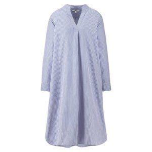 UNI QLO A Line Size L Striped Dress